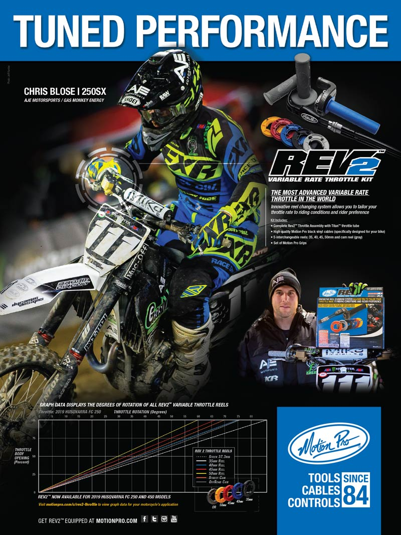 Racer X May 2019 - Motion Pro Advertisement