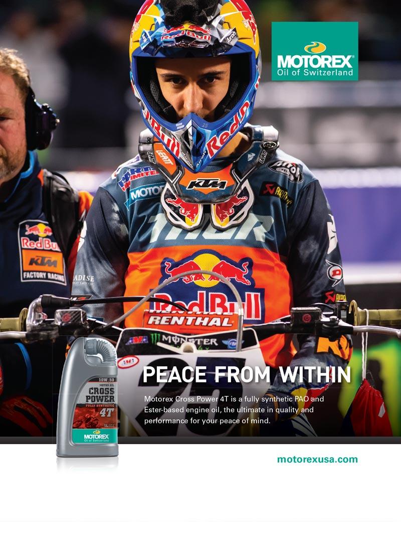 Racer X May 2019 - Motorex Advertisement