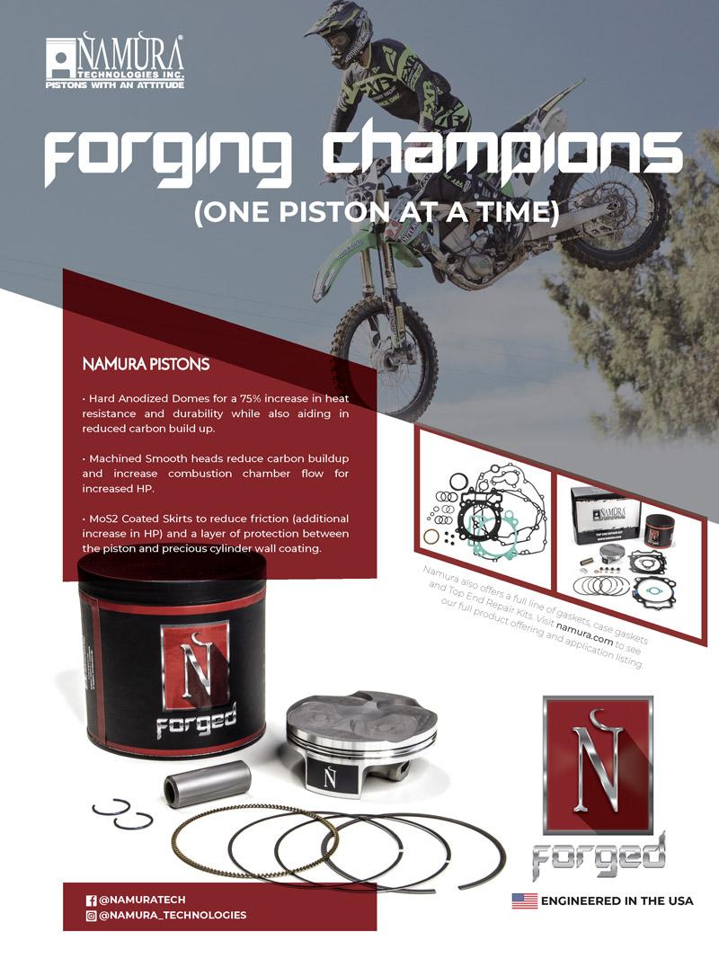 Racer X May 2019 - Namura Advertisement