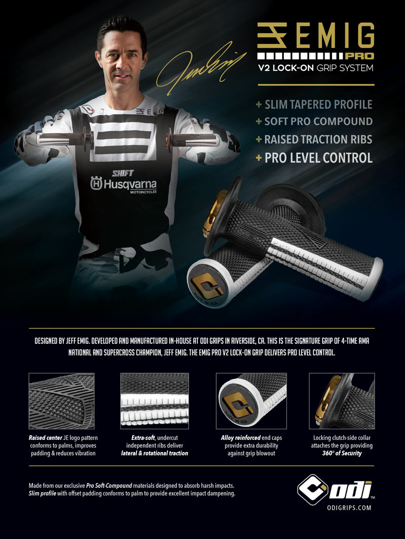 Racer X May 2019 - Odi Grips Advertisement