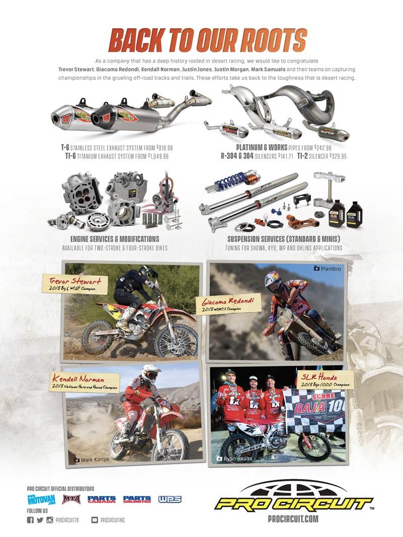 Racer X May 2019 - Pro Circuit Advertisement