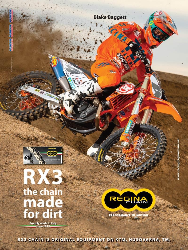 Racer X May 2019 - Regina Chain Advertisement