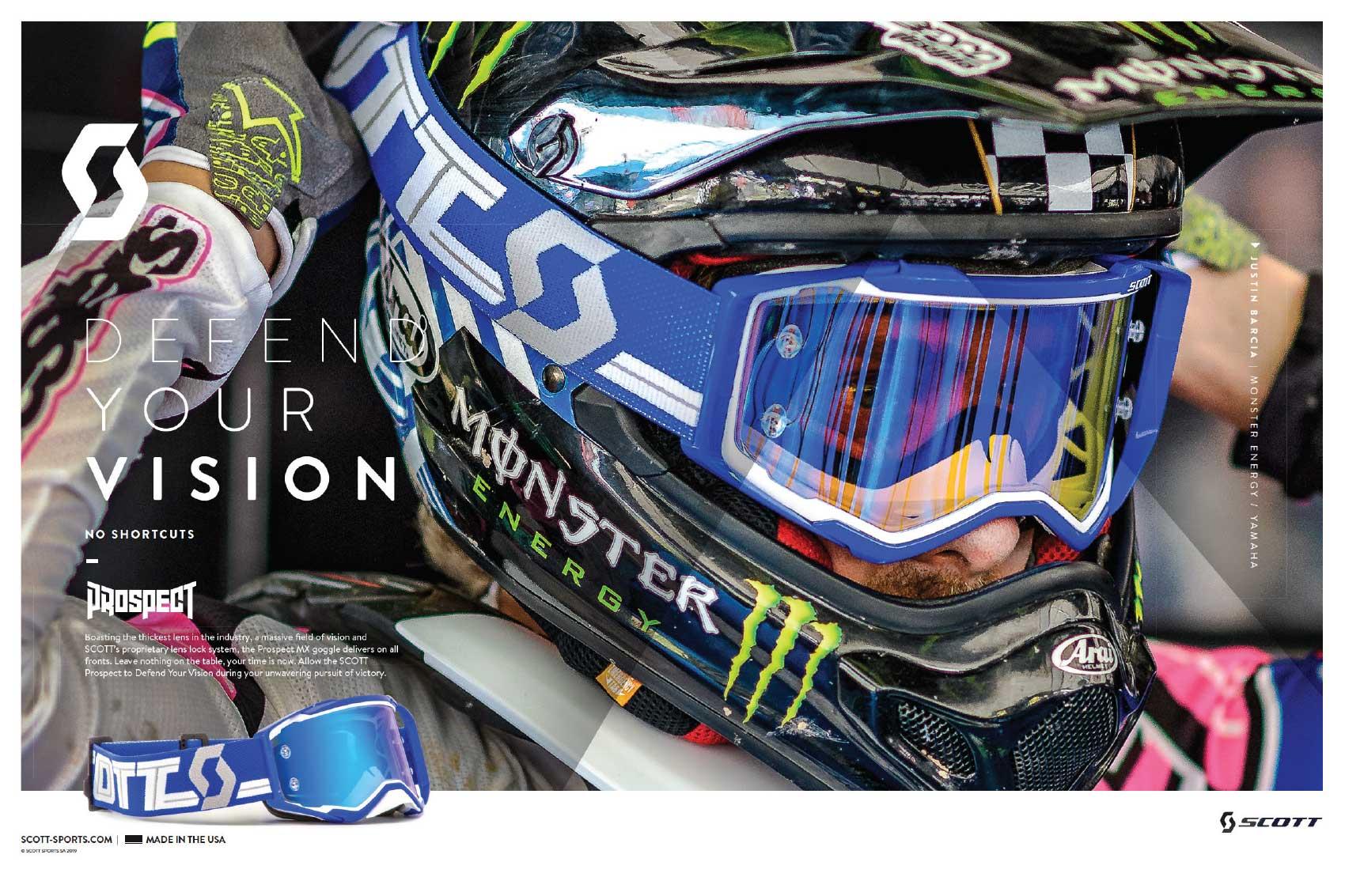 Racer X May 2019 - Scott Sports Advertisement