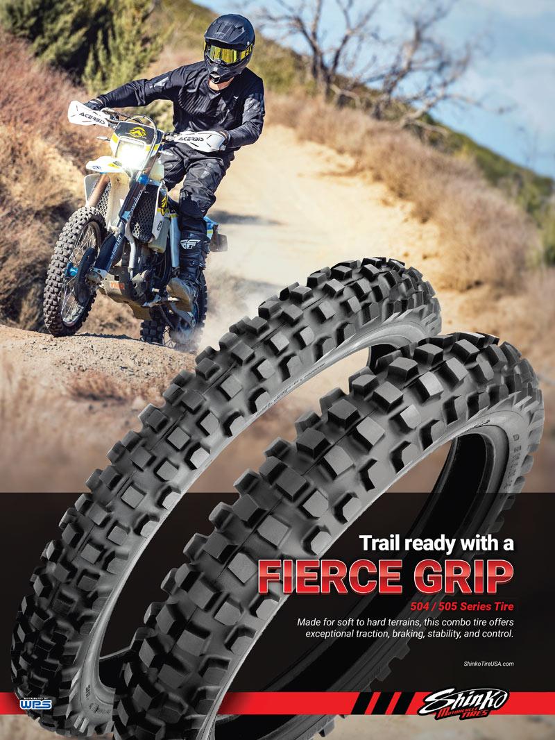 Racer X May 2019 - Shinko Motorcycle Tires Advertisement