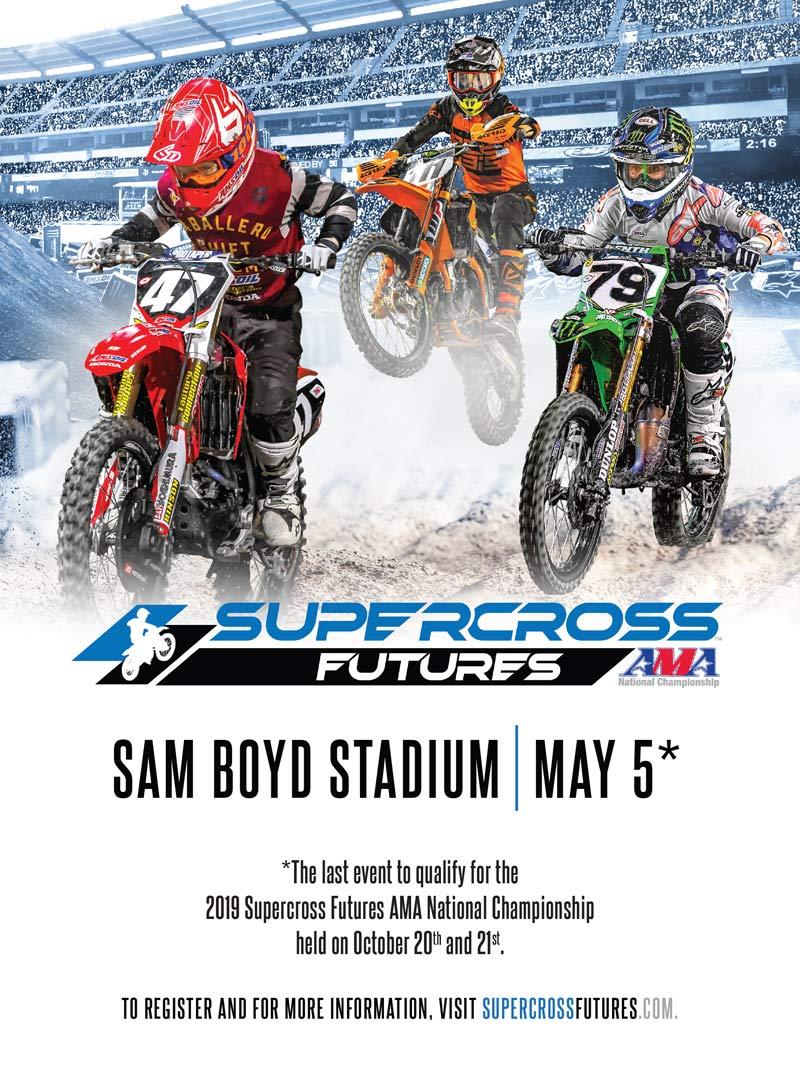 Racer X May 2019 - Supercross Futures Advertisement