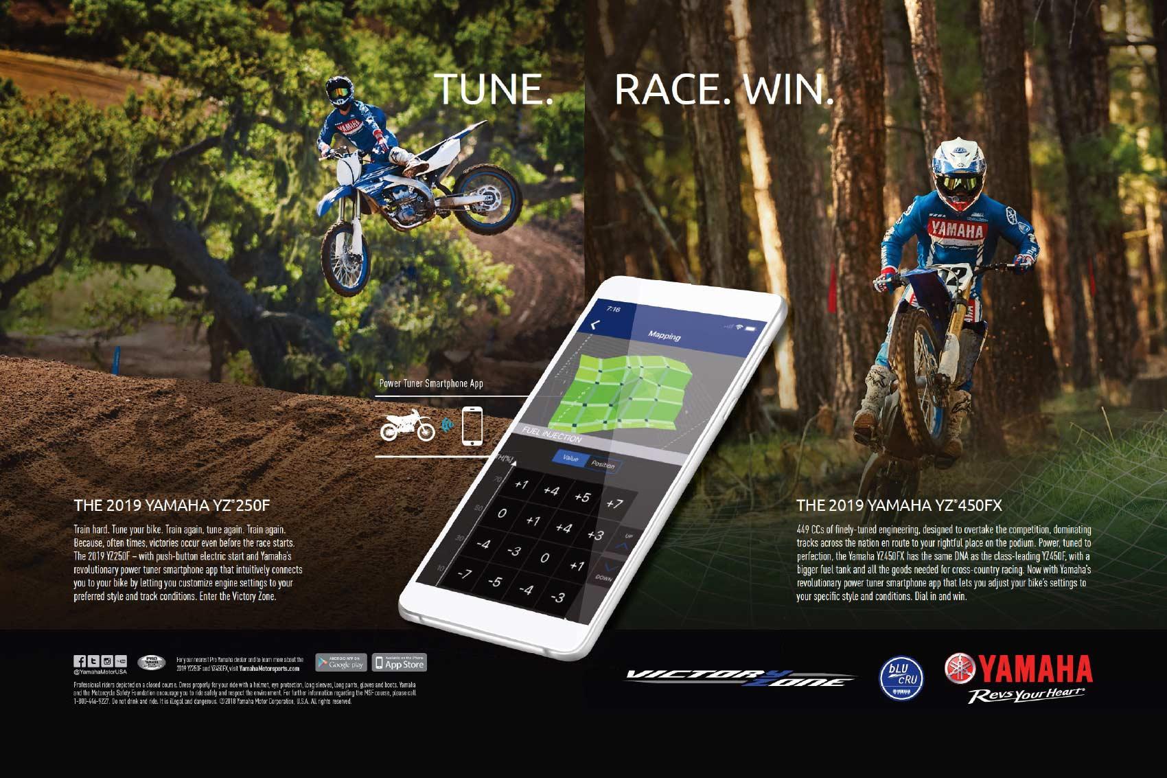 Racer X May 2019 - Yamaha Advertisement