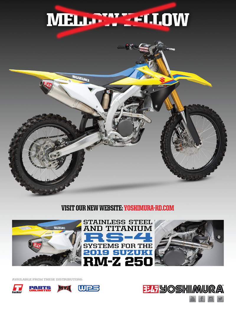 Racer X May 2019 - Yoshimura Advertisement