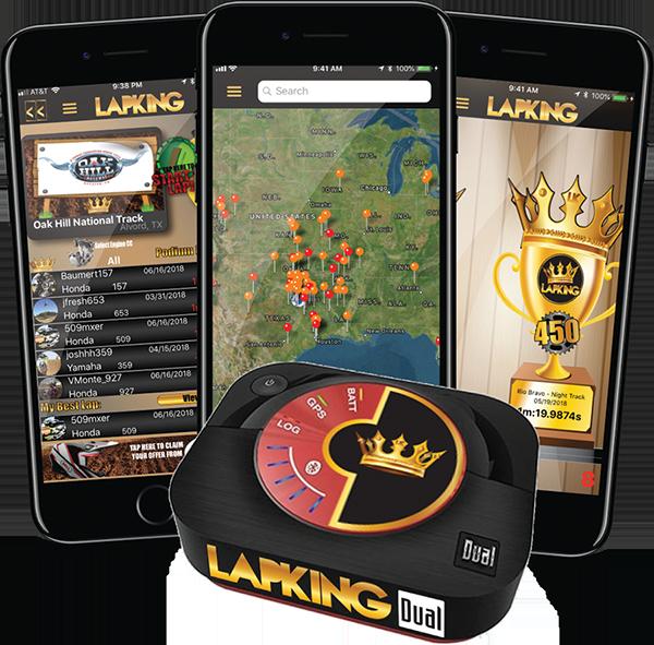 Lapking Dual GPS Unit & App