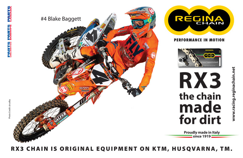 Racer X November 2019 - Regina Chain Advertisement
