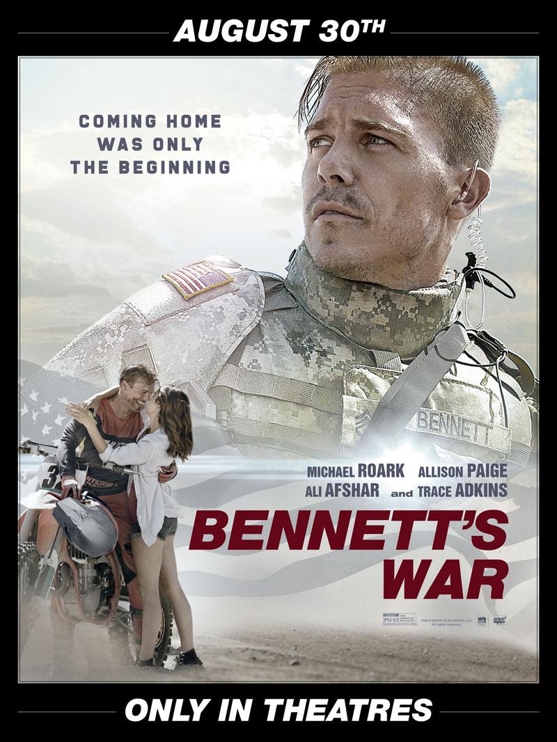 Racer X October - Bennett's War Movie  Advertisement