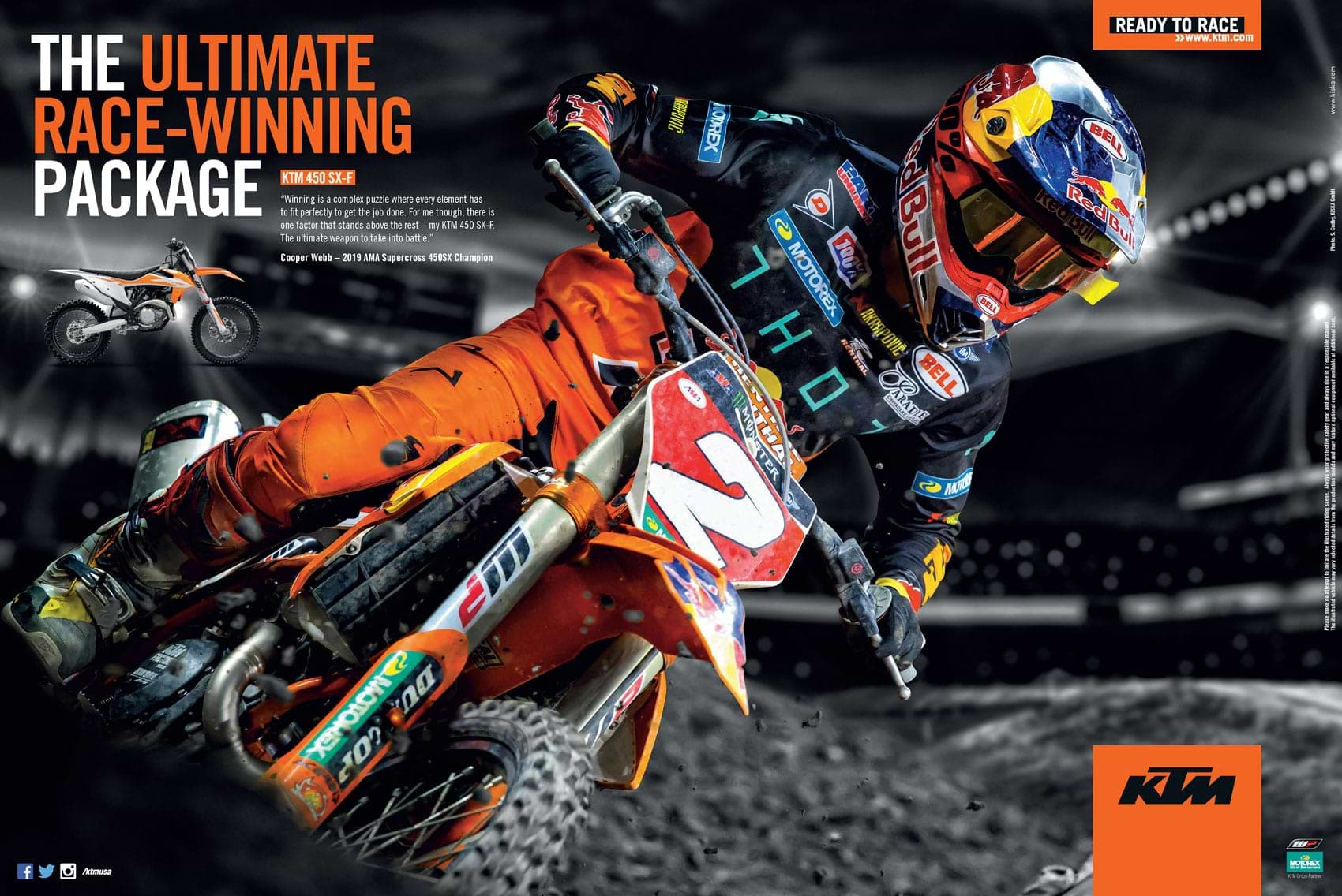 Racer X November 2019 - KTM Advertisement