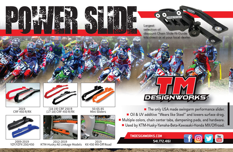 Racer X November 2019 - TM Designworks Advertisement