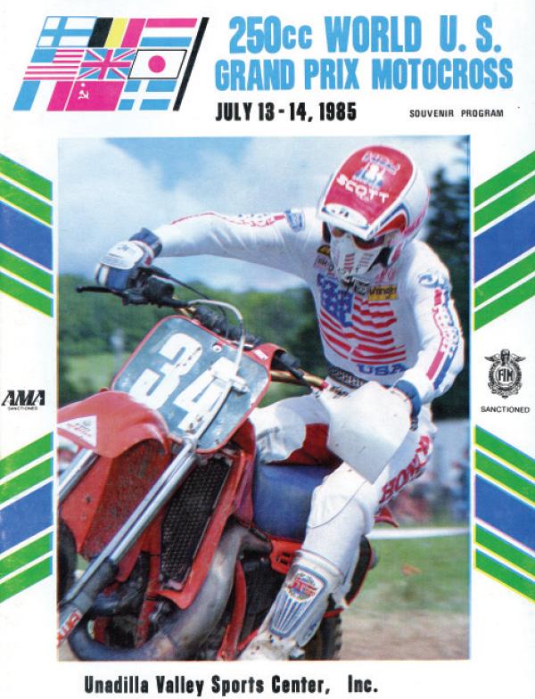 250cc USGP 1985