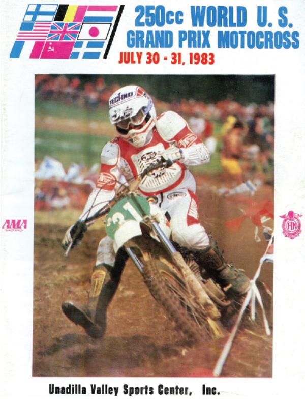 250cc USGP 1983