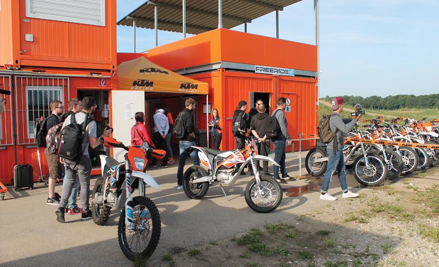 KTM Eletric-bike lineup