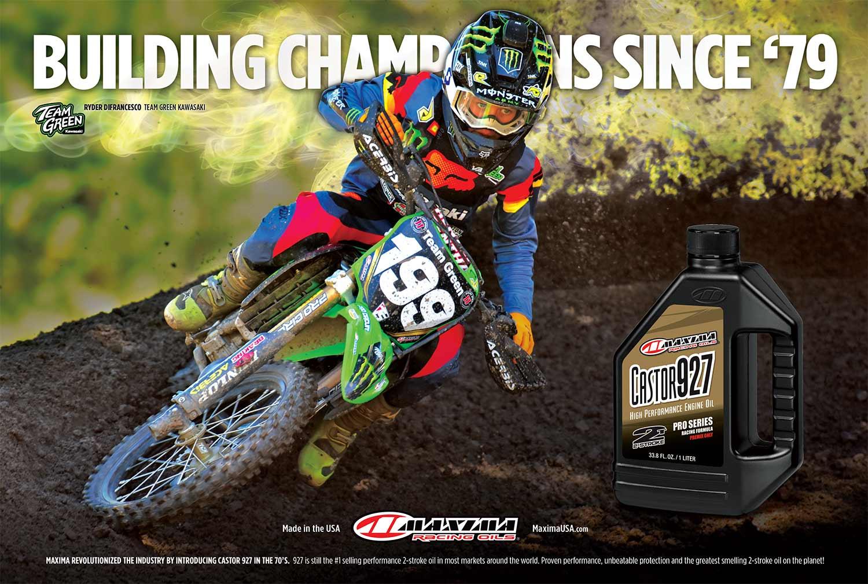 Maxima Racing Oils Advertisement