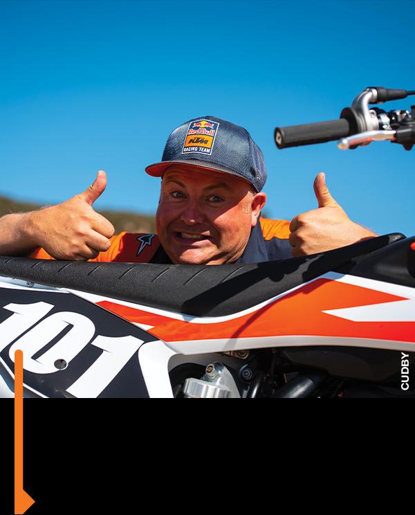 David O'Connor from KTM—or Bultaco?