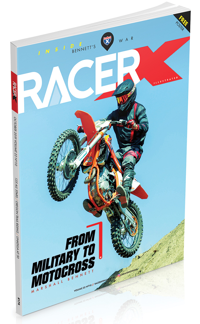 RacerX October 2019 Edition