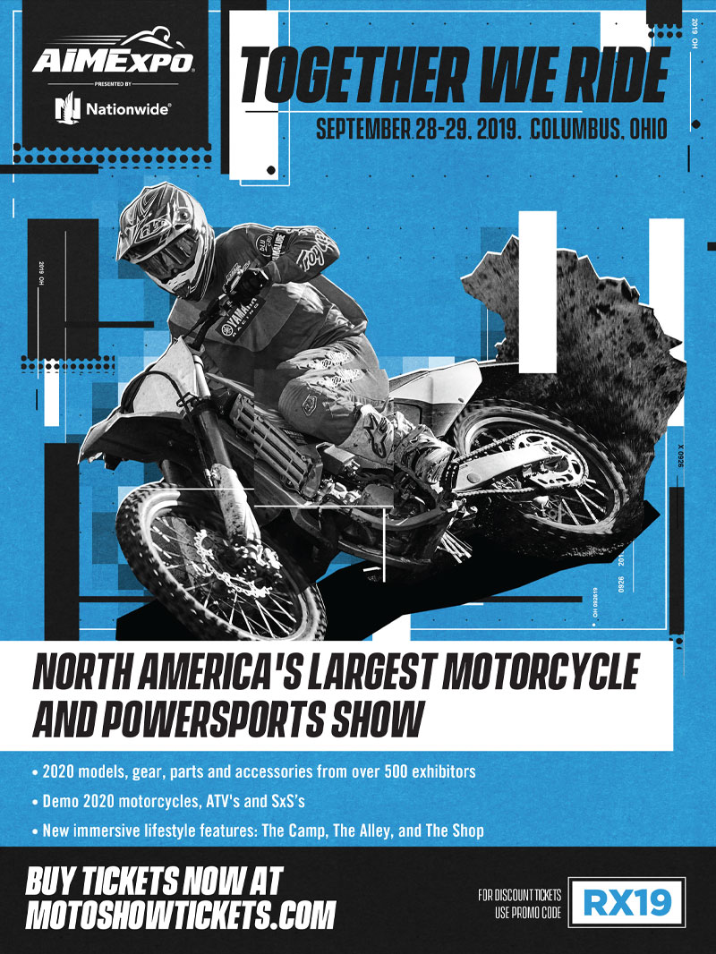Racer X October - Aime Expo Advertisement