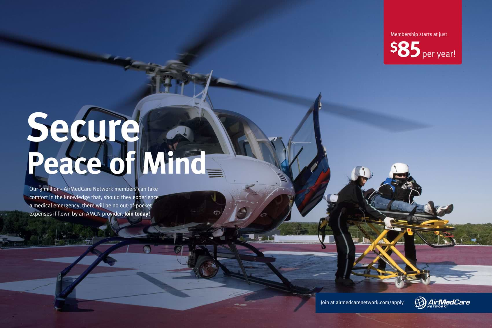 Racer X October - Air Med Care Network Advertisement