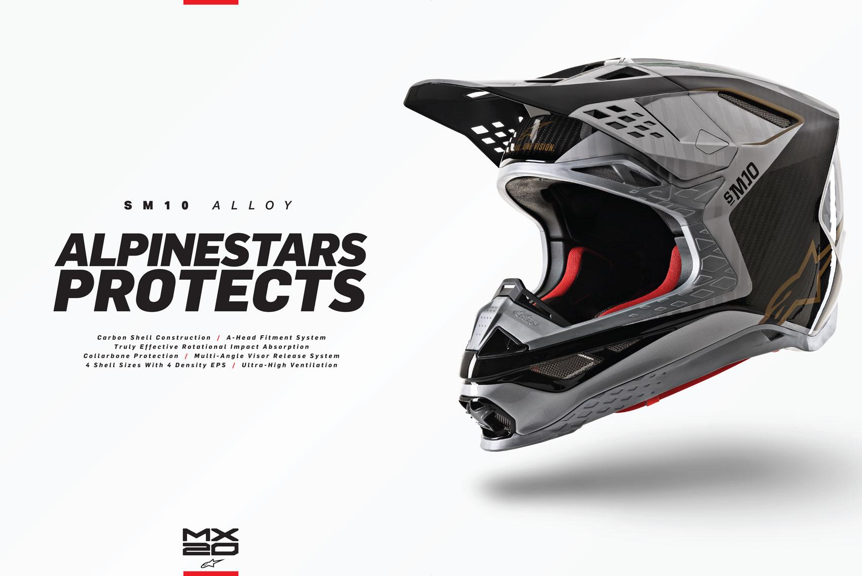 Racer X October 2019 - Alpine Stars Advertisement