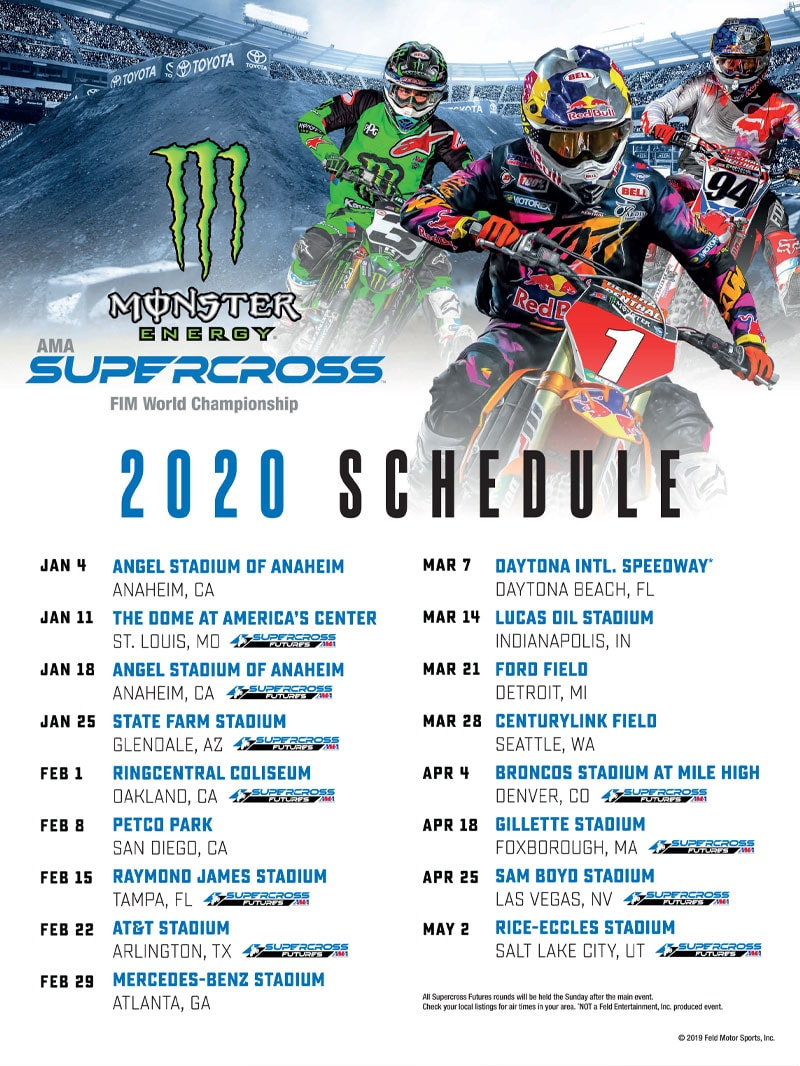 Racer X October - AMA Supercross FIM World Championship Advertisement