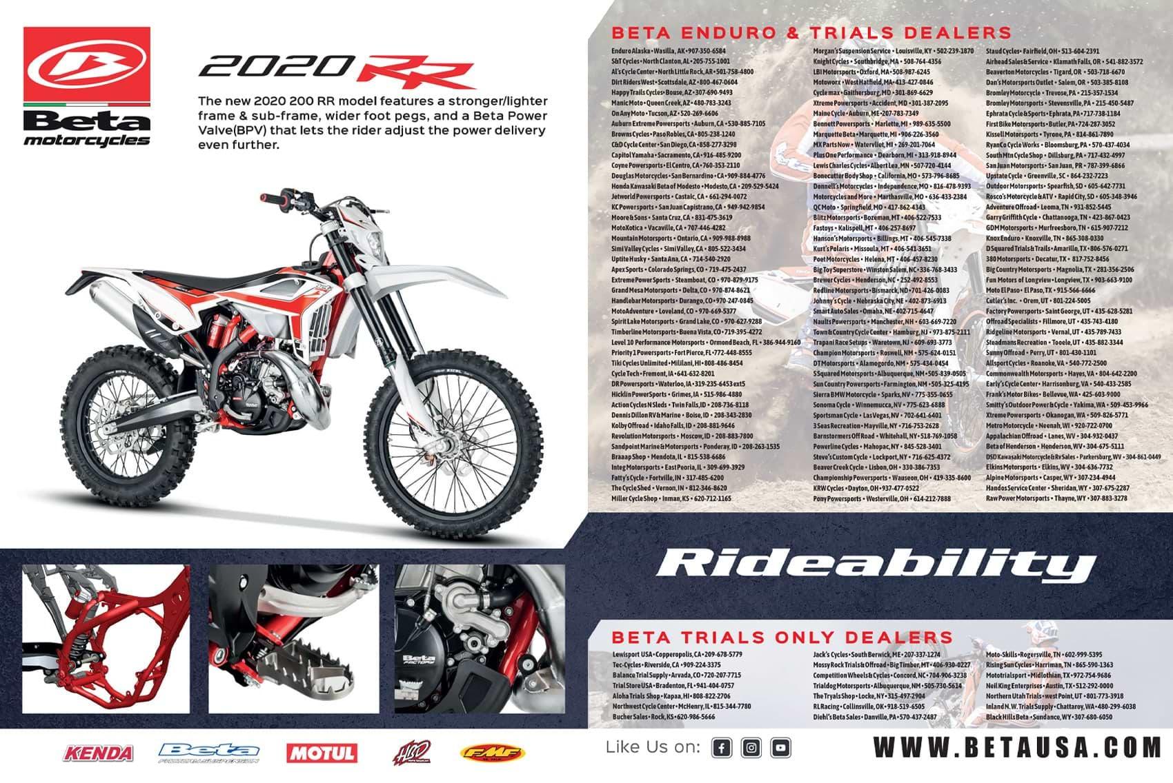 Racer X October 2019 - Beta  Advertisement