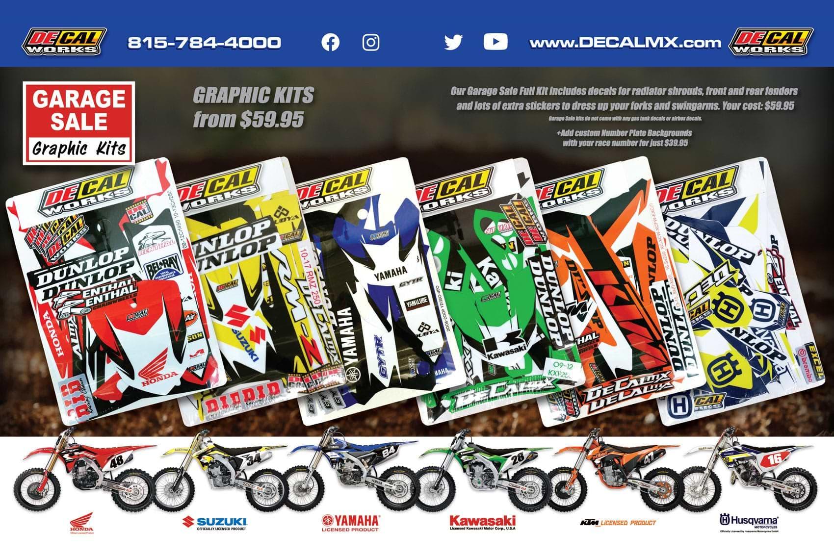 Racer X October 2019 - Decal Works Advertisement