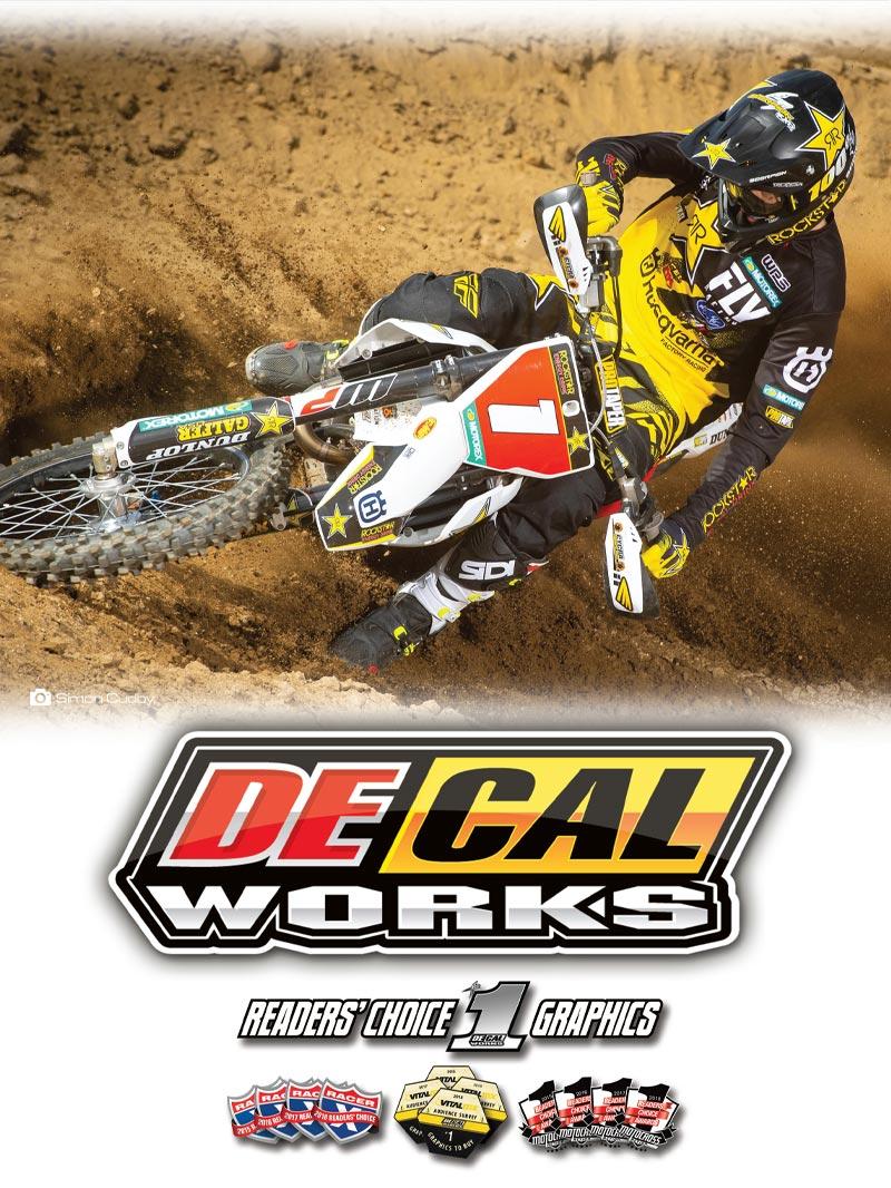 Racer X September 2019 - Decal Works Advertisement
