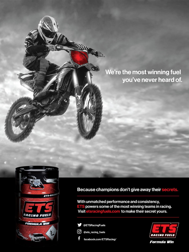 Racer X November 2019 - ETS Racing Fuels Advertisement