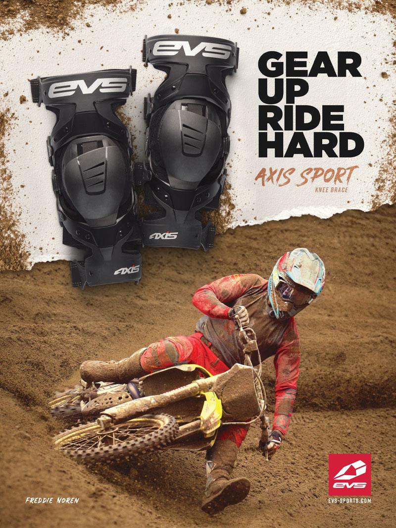 Racer X October 2019 - EVS Sports Advertisement
