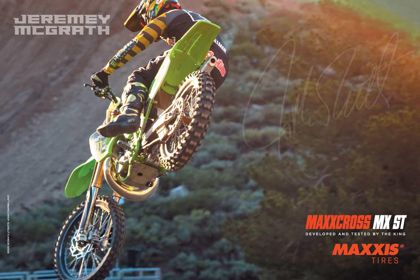 Racer X October 2019 - Maxxis Tires Advertisement