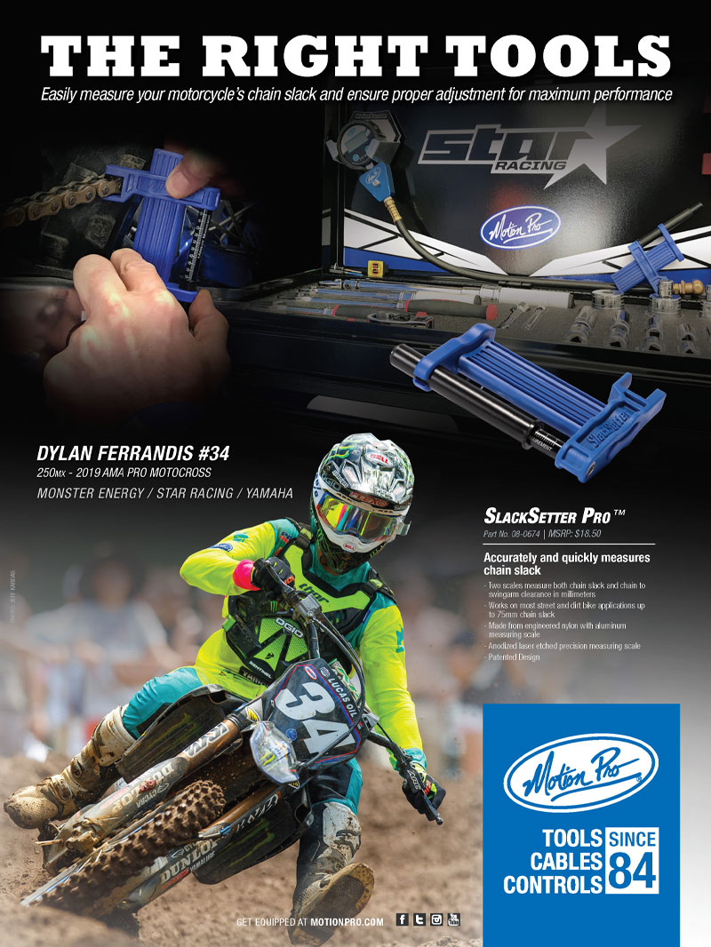 Racer X October 2019 - Motion Pro Advertisement