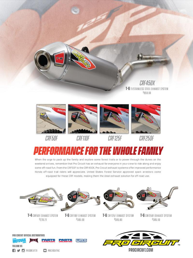 Racer X October 2019 - Pro Circuit Advertisement