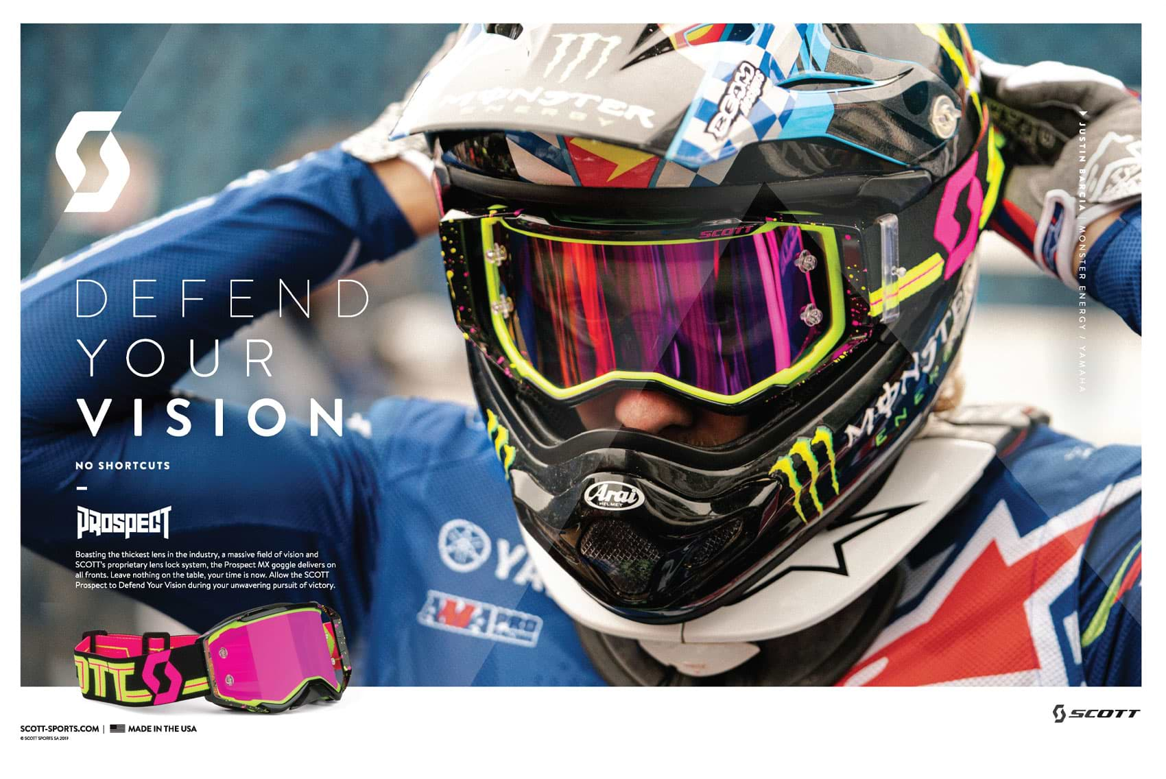 Racer X October 2019 - Scott Sports Advertisement