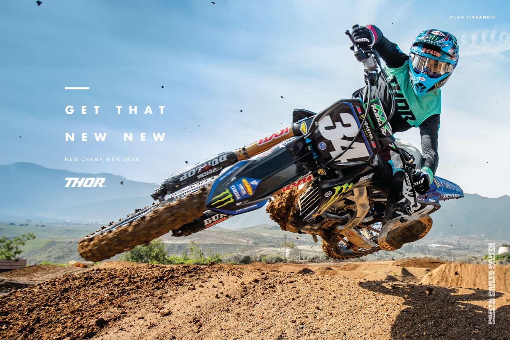 Racer X October 2019 - Thor Advertisement