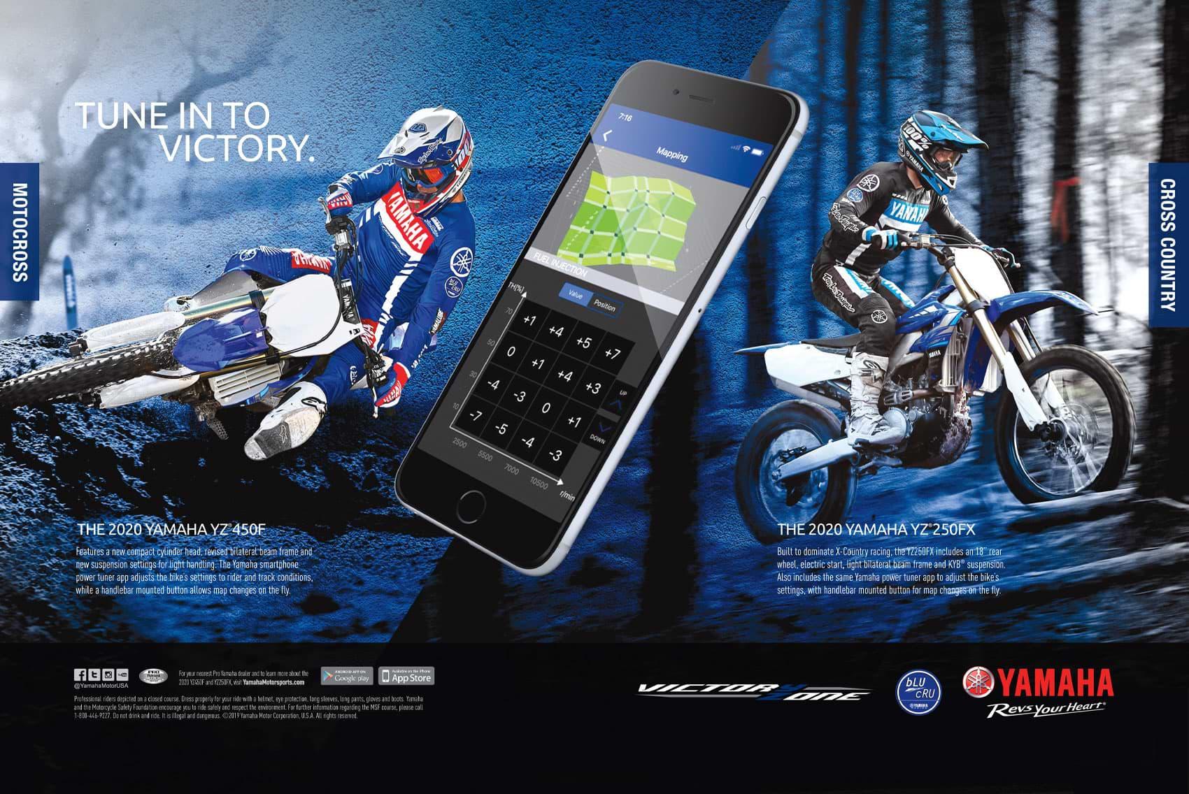 Racer X December 2019 - Yamaha Advertisement