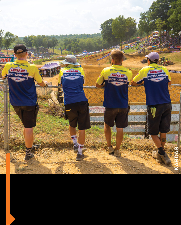 Gear Services track crew surveys Budds Creek.