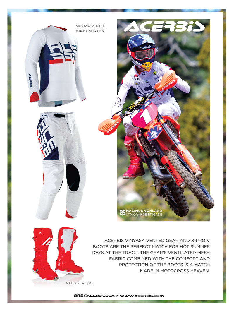 Racer X November 2019 - Acerbis Advertisement