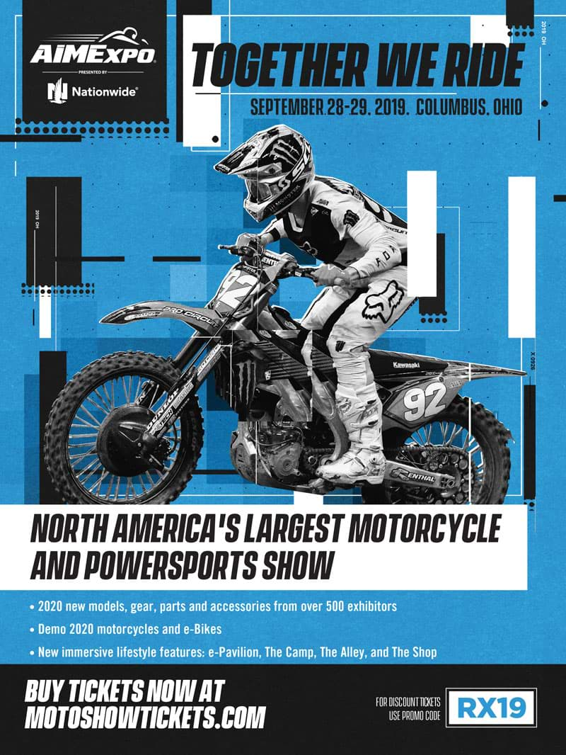 Racer X November - Aime Expo Advertisement