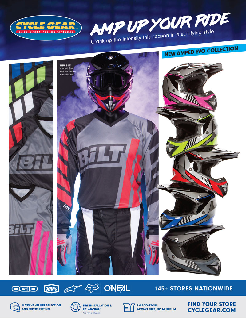 Racer X November 2019 - Cycle Gear Advertisement