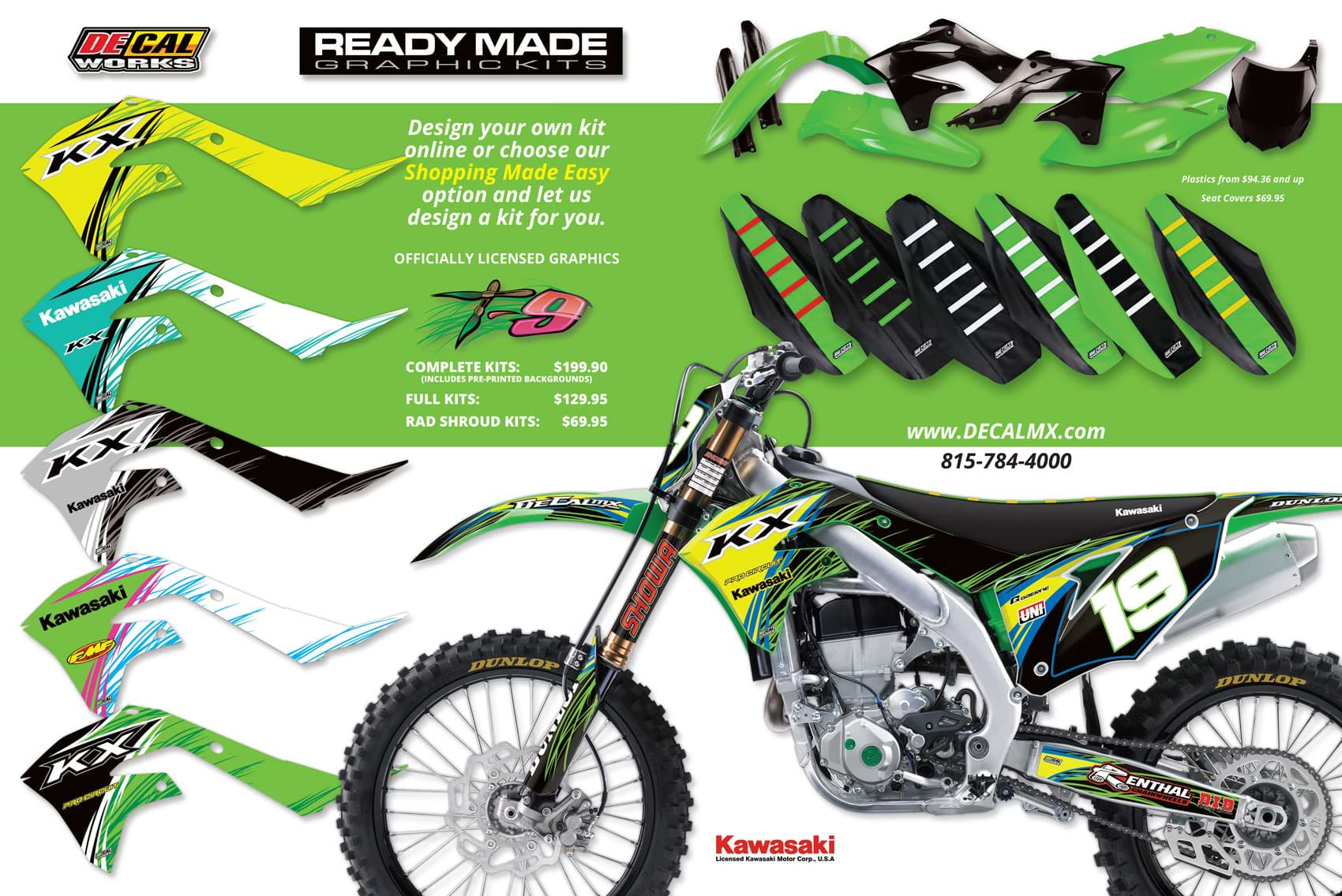 Racer X November 2019 - Decal Works Advertisement