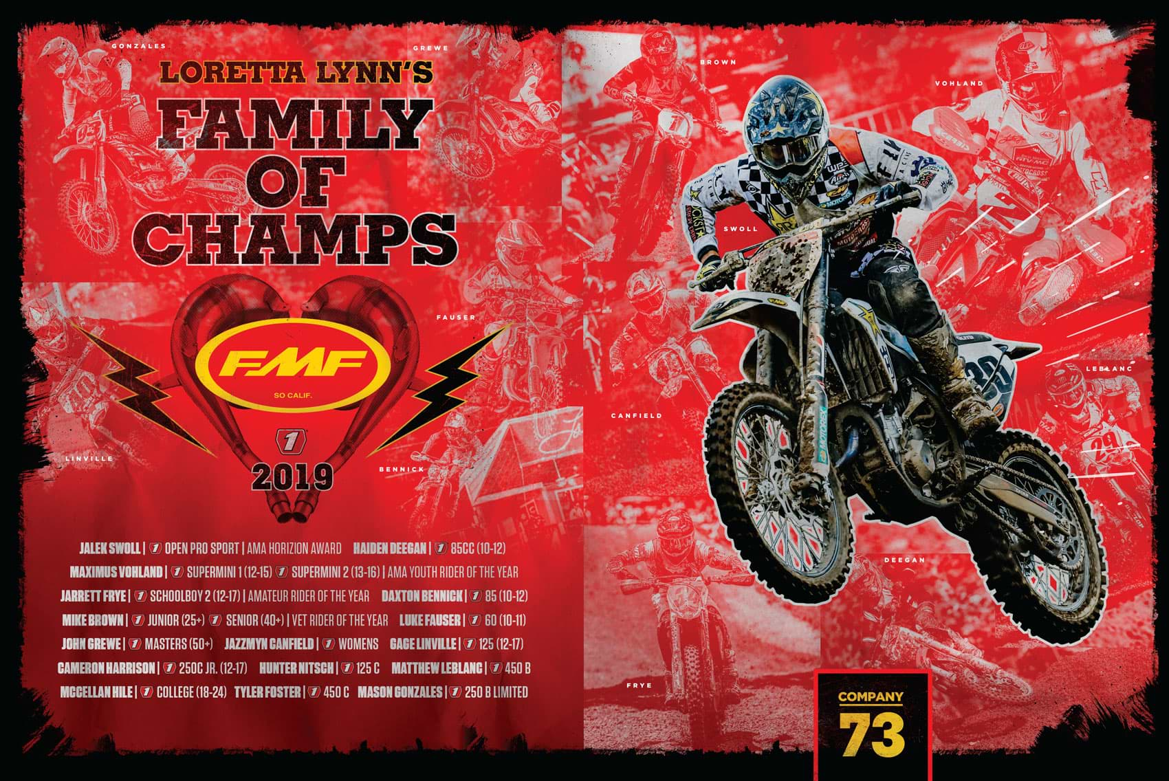 Racer X November 2019 - FMF Advertisement