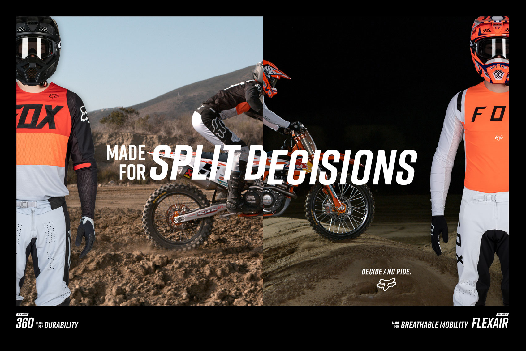 Racer X November - Fox Racing Advertisement