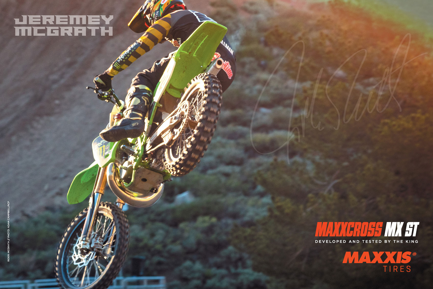 Racer X November 2019 - Maxxis Tires Advertisement