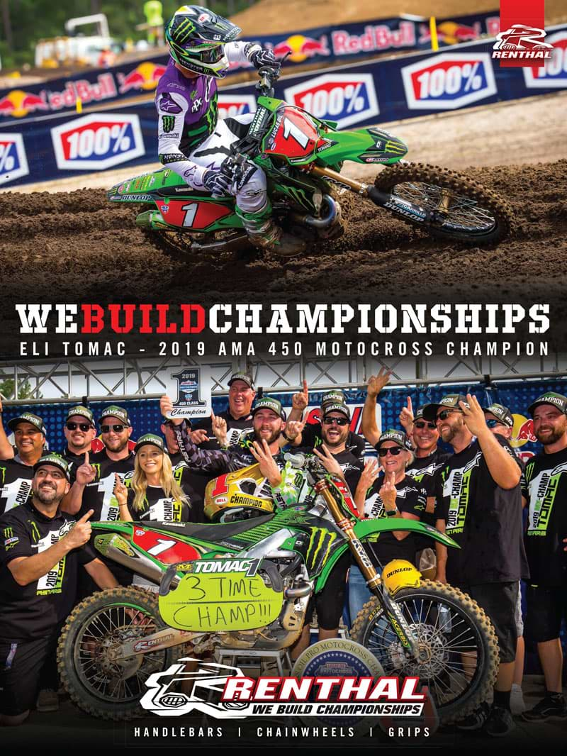 Racer X September 2019 - Renthal Advertisement