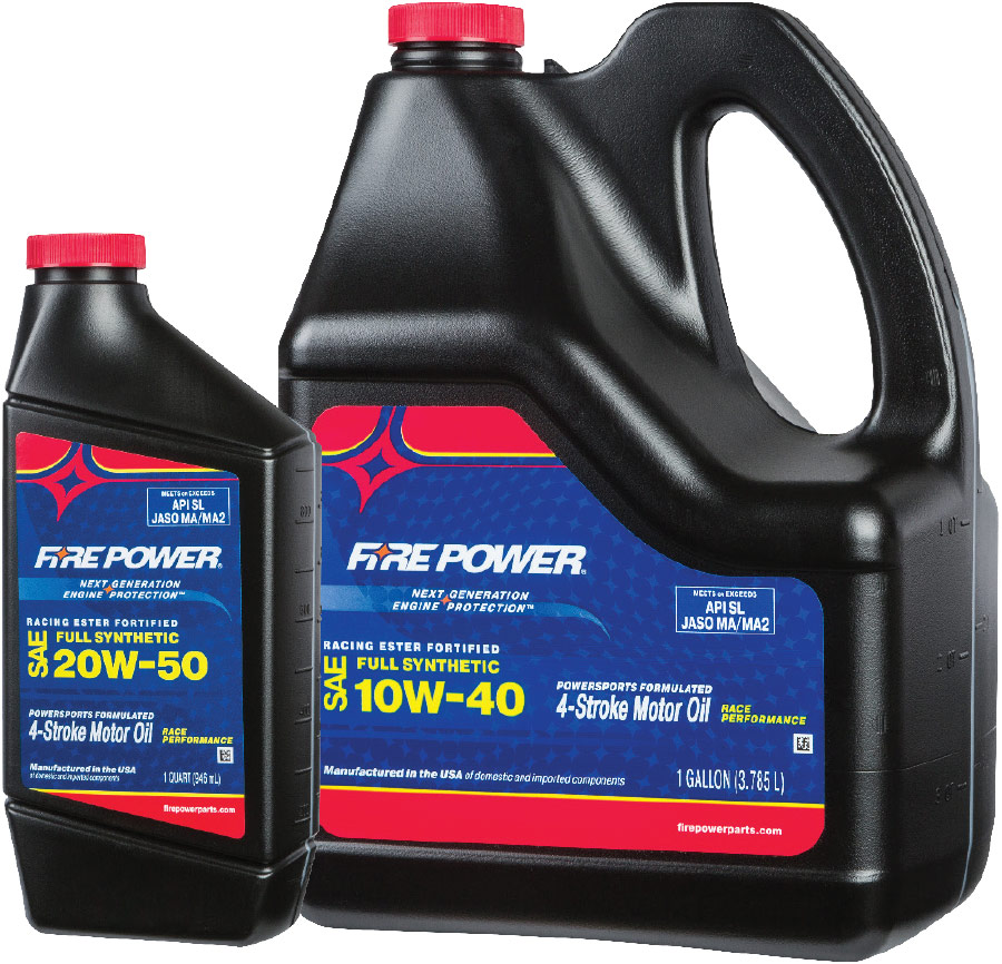 FirePower Racing Motor Oils