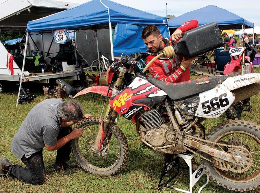 First-timers Logan and Jordan Martin