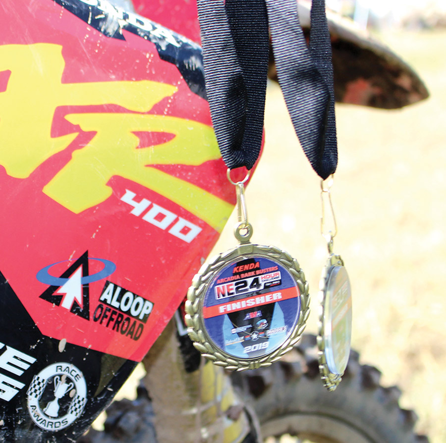 close up of medals