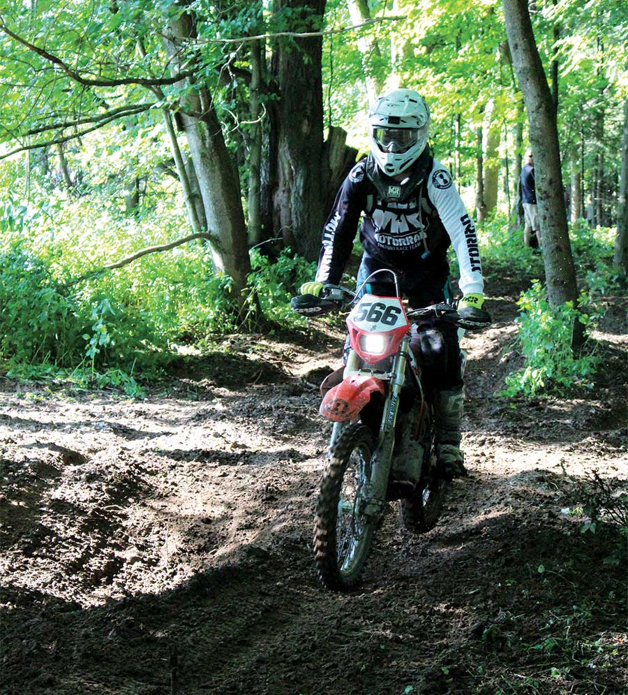 Martins looked no further than Craigslist to find a 1996 Honda XR400